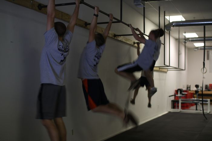 crossfit charlottesville pullup bars