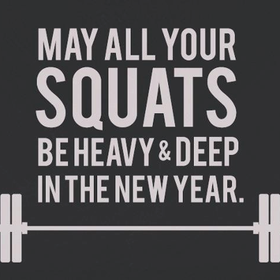 squats heavy and deep