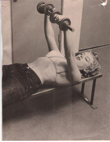 Bench Press is sexy. Just ask Marilyn Monroe her thoughts on the subject.