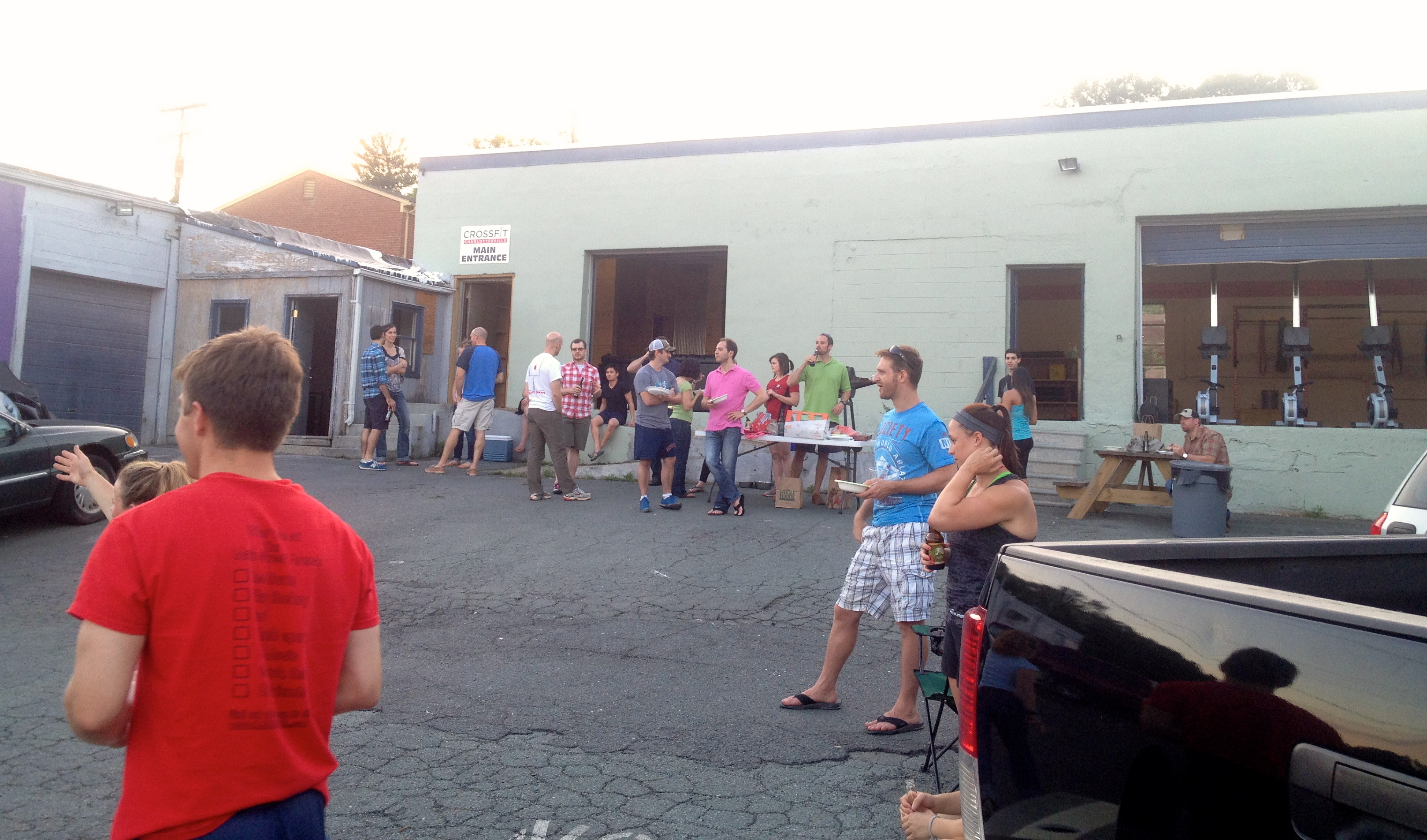 Awesome turnout at the BBQ this past Friday!