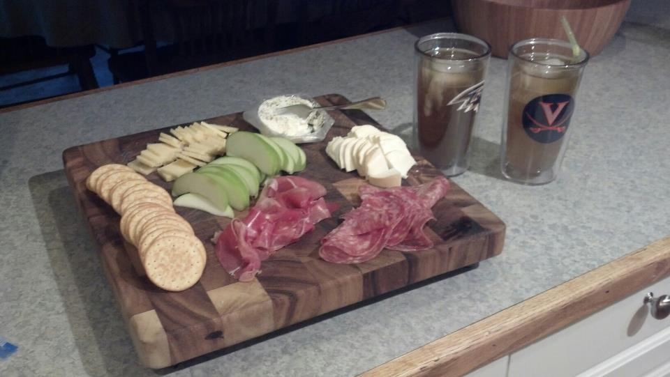 Meats and cheeses... thats a good start