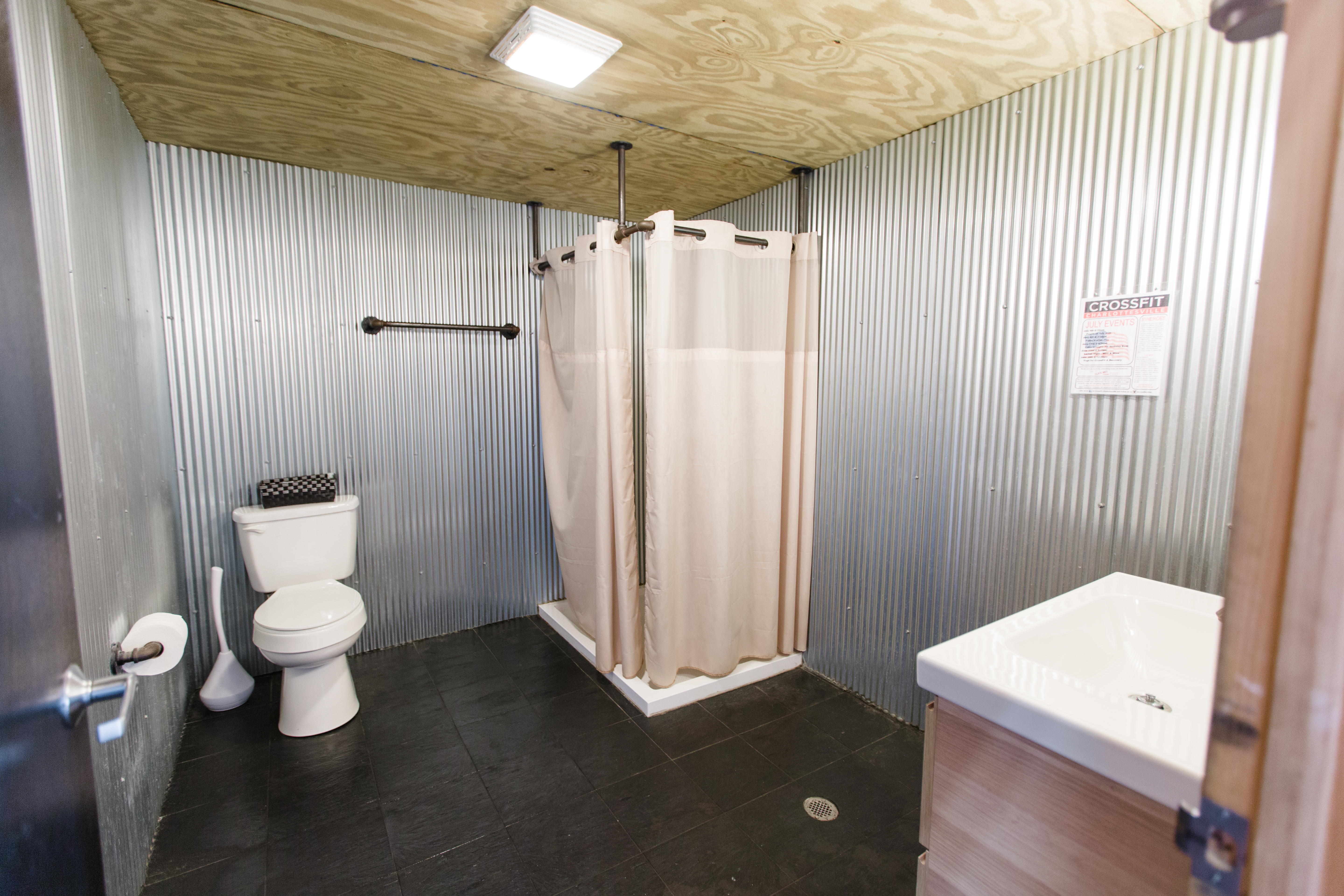 Two Bathrooms, Each With Shower