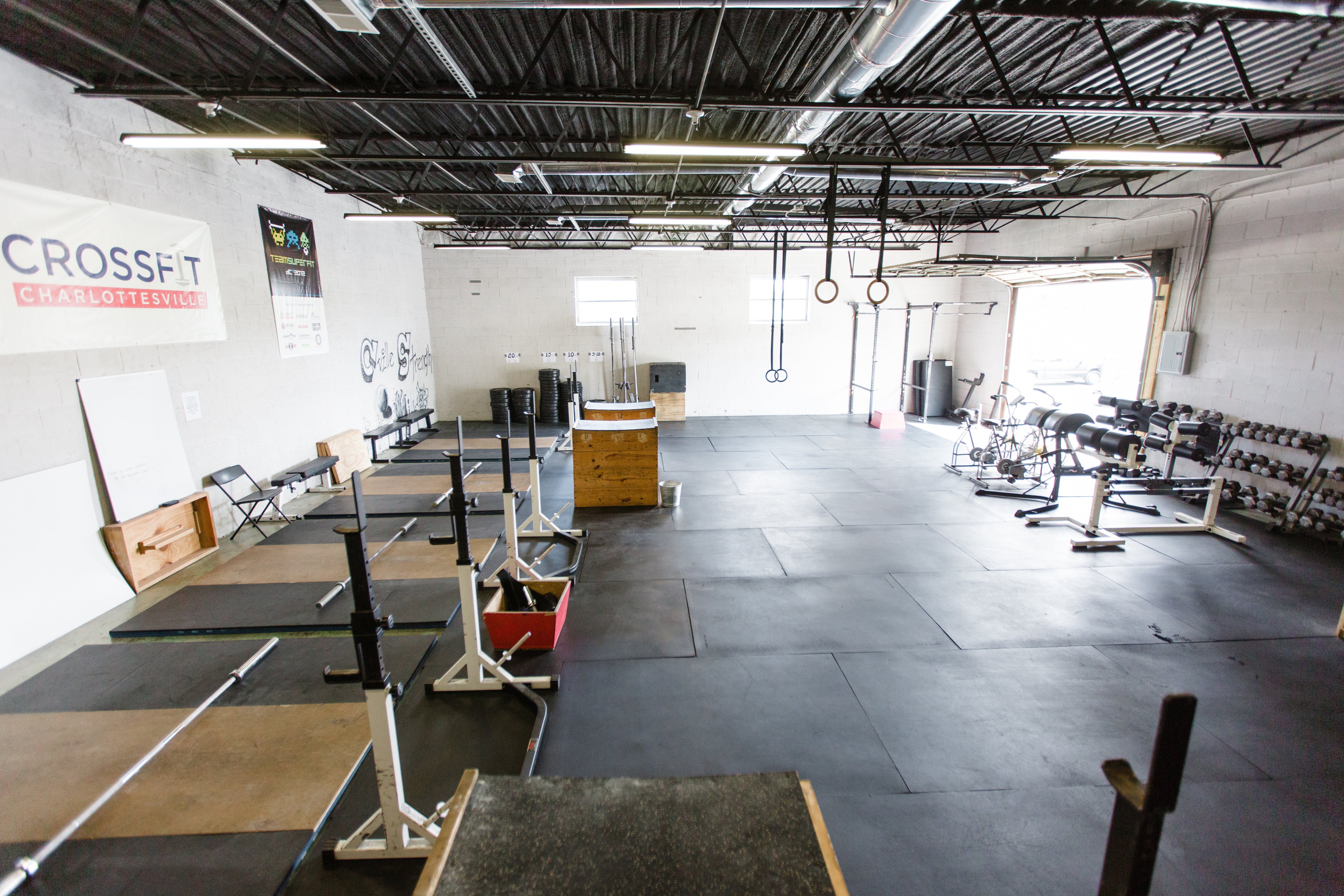 C'ville Strength/Open Gym Area